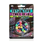 Reflective Cycle Spoke Beads 18 Pack