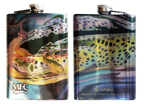 MFC Maddox Stainless Steel Hip Flask, Hopper Snack