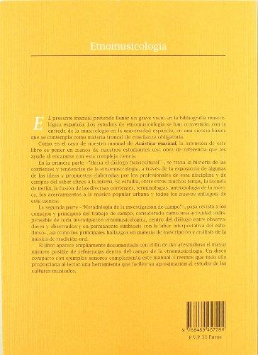 Descargar Libro Etnomusicologia Enrique Camara De Landa