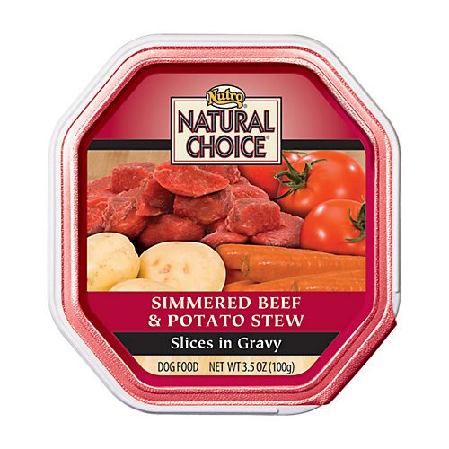 Natural Choice Adult for Dog, Color: Beef & Potato , Size: 3.5 OUNCE, Count: 24