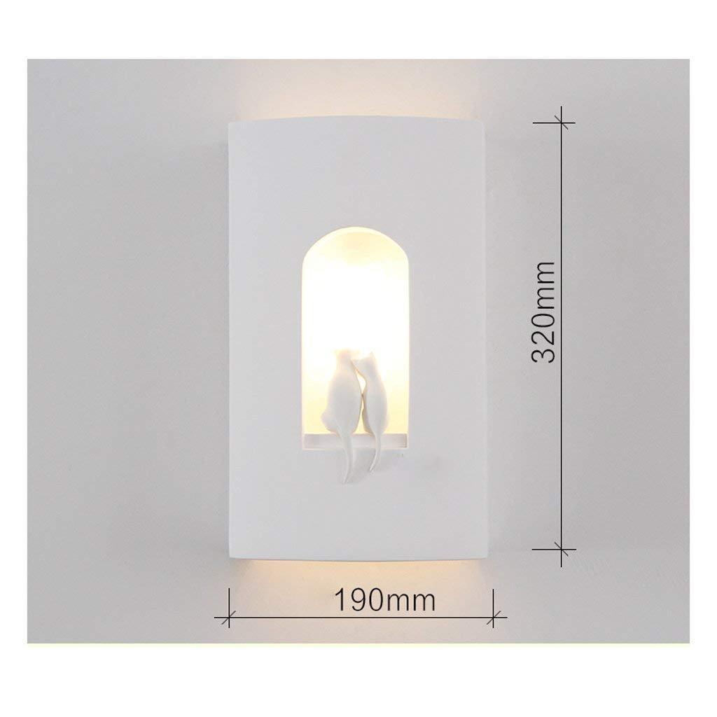 JU Wandleuchte Kreative Wandleuchte Moderne Einfache Wohnzimmer Gang Gang Gang Dekorative Lichter LED Schlafzimmer Bett Lampe Nordic Lampen B07HL7TJ9Y | Um Zuerst Unter ähnlichen Produkten Rang  672067