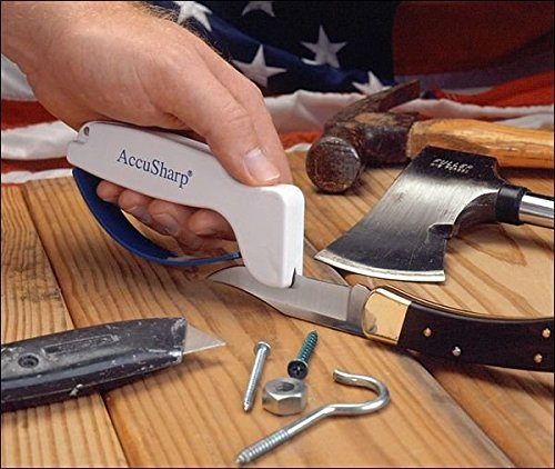 Accusharp Knife Sharpener Length Finger
