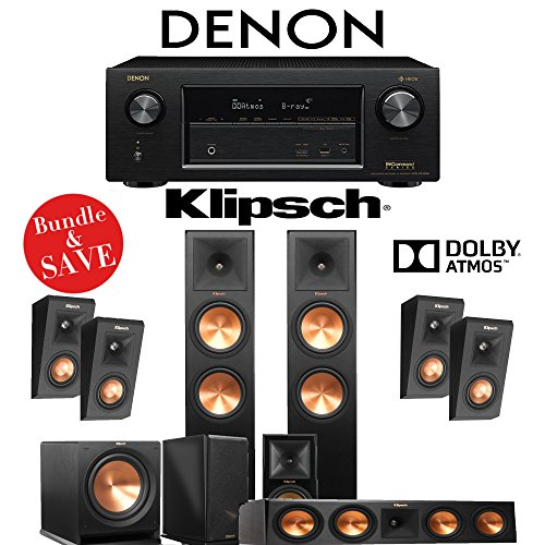 Klipsch RP-280F 5.1.4-Ch Reference Premiere Dolby Atmos Home
