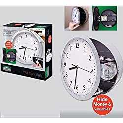 Total Value Wall Clock with Hidden Safe