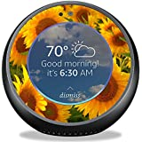MightySkins Skin Amazon Echo Spot - Sunflowers | Protective, Durable Unique Vinyl Decal wrap Cover | Easy to Apply, Remove Change Styles | Made in The USA
