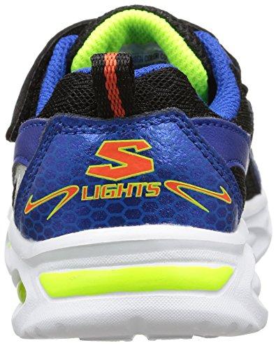 Skechers IpoxRayz - zapatilla deportiva de piel niños Azul (blbk)