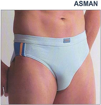 ASSMAN - 2446 Slip Hombre Algodón Lycra Pack DE 3 Unidades Color: Surtidos Talla: XL: Amazon.es: Ropa y accesorios