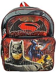 DC Comics Batman vs Superman 16 School Backpack