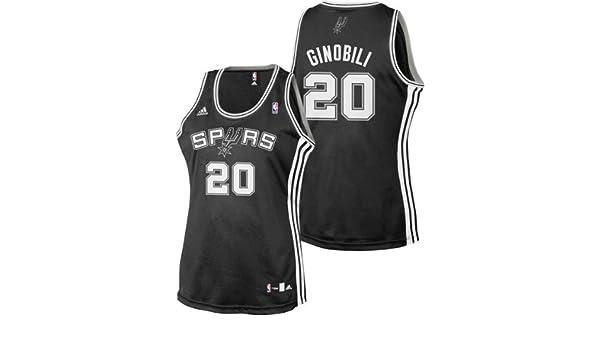 Amazon.com   Manu Ginobili adidas Fashion San Antonio Spurs Women s Jersey    Athletic Jerseys   Sports   Outdoors de22d7432