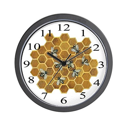 CafePress Honey Unique Decorative Clock