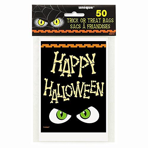 Bones Happy Halloween Treat Bags, -