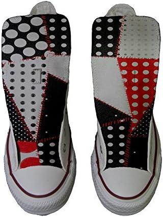 Sneaker Original personalisierte Schuhe - Handmade Shoes - Continuity Texture
