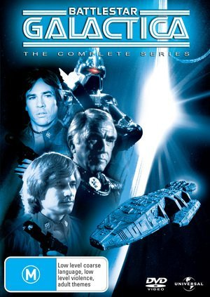 Battlestar Galactica: Complete Series [Regions 2 & 4] by Richard Hatch by