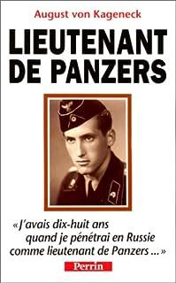 Lieutenant de Panzers, Kageneck, August von