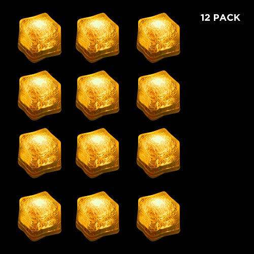 LED Yellow Ice Cubes]()