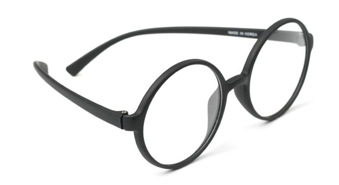 f0fa46fe713 Amazon.com  Large 360 Big Round Oversized Reading Glasses Flexible Frame  All Strength Free Hard Case (+2.50