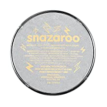 Snazaroo Face Paint 18ml Individual Color, Silver Metallic