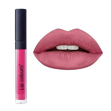 c618c49667f3 Women Cosmetics Matte Lip Gloss & Metallic Lip brillant Moisturizing  Long-lasting Luster Lipstick...