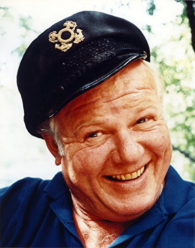 Gilligan's Island Alan Hale Photo Print