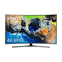 Samsung TV 49MU6655 - Smart TV 49 pulgadas 4K UHD HDR (pantalla curva, resolución UHD, Quad-Core, Active Crystal Color, 3 HDMI, 2 USB, One Remote Control)