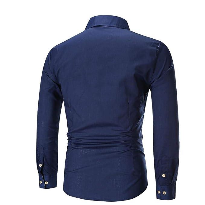 ... Asunto del otoño de los Hombres Mayores Camisa Delgada de la Camisa de Manga Larga Camisa a Cuadros de la Camisa Superior.: Amazon.es: Ropa y accesorios