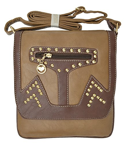 Body Tan Style Strap Adjustable Marshal Handbag With Classic Cross By zExf1wv