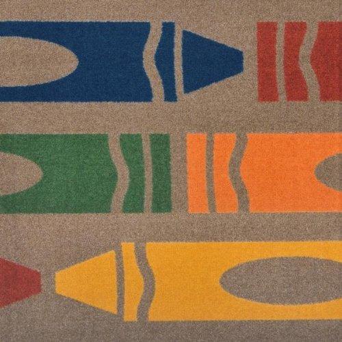 - Joy Carpets - Jumbo Crayons - Earthtone 10'9