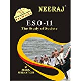 ESO11-The Study of Society (IGNOU help book for ESO-11 in English Medium)