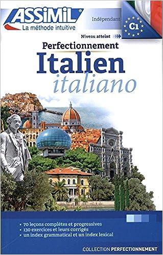 Perfectionnement Italien Livre Learn Advanced Italian