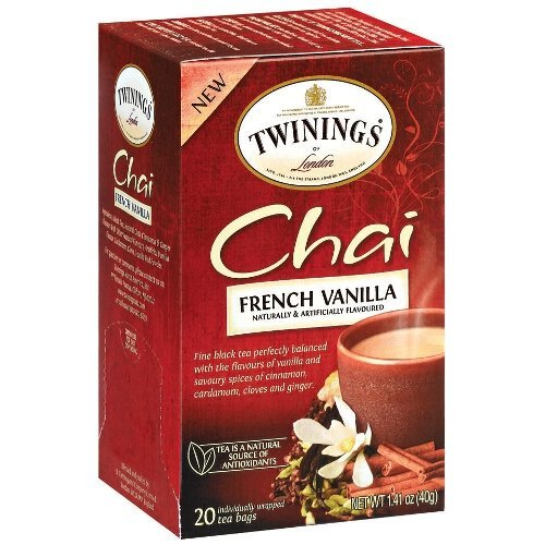 (Twinings French Vanilla Chai Tea, 40 Count)