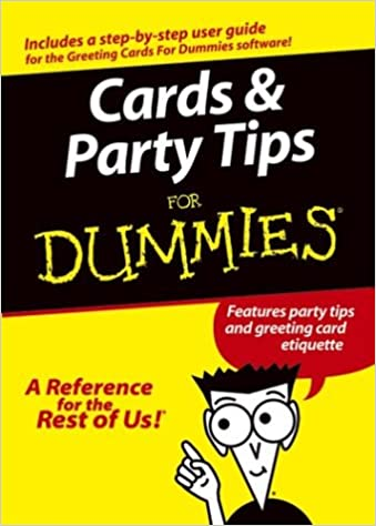 Amazon cards and party tips for dummies features party tips amazon cards and party tips for dummies features party tips and greeting card etiquette 9780764567841 zoe wykes kristie rees books m4hsunfo
