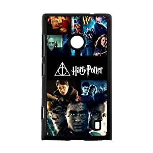 Harry Potter Deathly Hallows Case Cover for Nokia Lumia 520