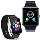 Relojes Inteligentes Best Deals - Minkoo SmartWatch GT08 Bluetooth Reloj Inteligente para Android IOS Phone Wechat Rojo