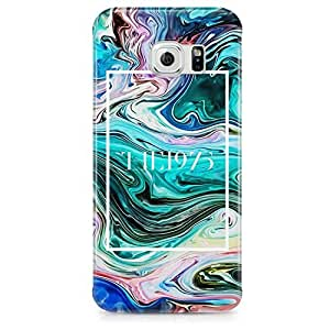 The 1975 Colorful Acrylic Paint Rad Tye Dye Soap Film Trippy Hard Plastic Snap-On Case Cover For Samsung Galaxy S6 EDGE