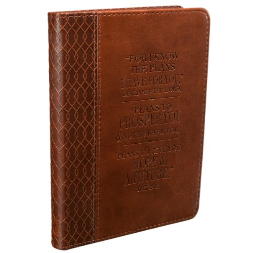 Jeremiah 29:11 Two-tone Flexcover Journal