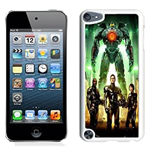 NEW Unique Custom Designed iPod Touch 5 Phone Case With Pacific Rim Characters_White Phone Case