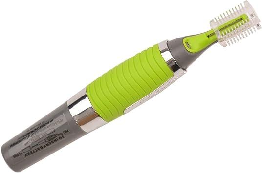 Micro táctil Depiladora afeitadora LED para cuello Cejas Bigote ...