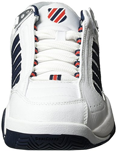 Fieryred Defier Swiss White Tennis da Rs K 164m Scarpe Performance Bianco Dressblues Uomo PEAqzdw