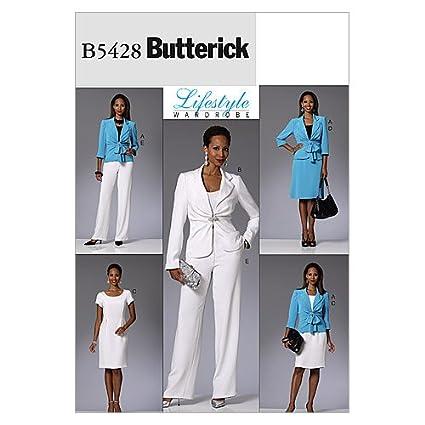 Butterick Patterns McCall s Patterns B5428 tamaño AA 6 – 8-10 – 12