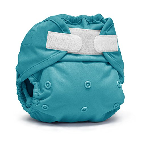 (Rumparooz One Size Cloth Diaper Cover Aplix, Aquarius)