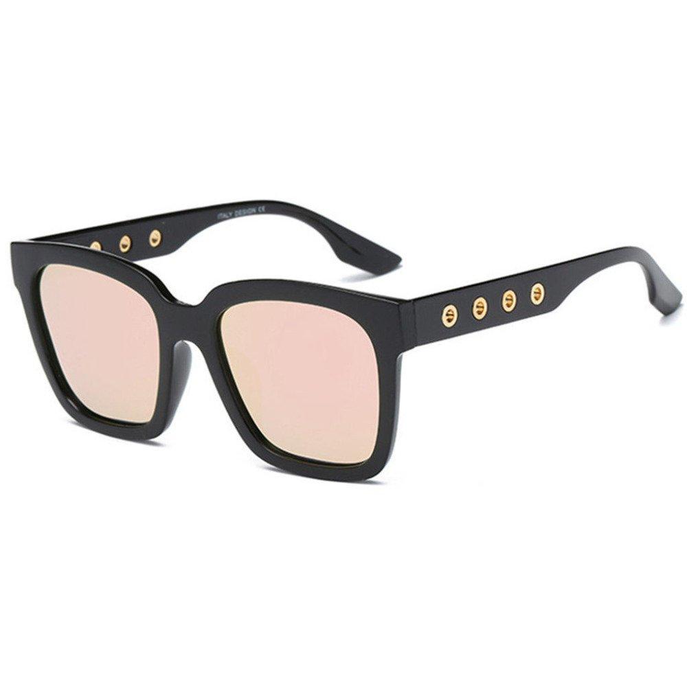 Aoligei Männer Frauen allgemeine Stil Retro-Flut Spiegel Polarisierende Sonnenbrillen Sonnenbrillen Metall Sonnenbrille hBSzQgemW