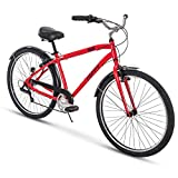 Huffy Mens Commuter Bike, Hyde Park 27.5 inch 7-Speed, Lightweight