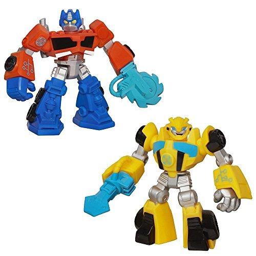 Transformers Rescue Bots Optimus Prime & Bumblebee - Optimus Prime Bumble Bee