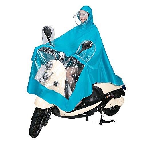 antipioggia Cappuccio bici ZZHF 7 Parapioggia colori yuyi D per antipioggia motocicletta G Mantello Abbigliamento Poncho per Colore Impermeabile Ciclismo antivento disponibili antipioggia qwOx4