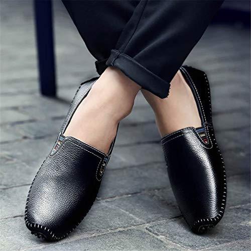 YAN Office Scarpe Driving Leggere Slip Outdoor Moda C Casual On Piatto Suole Shoes amp; Autunno Uomo Primavera Party amp; da Evening qgHnwrqd1