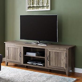 huge selection of 3cd51 3038a Amazon.com: WE Furniture AZ70CS2DGW TV Stand, 70