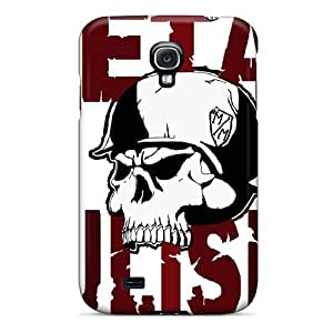 High Quality Shock Absorbing Cases For Galaxy S4-metal Mulisha