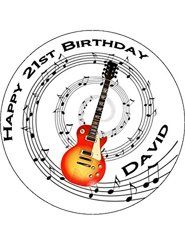 Novelty-Personalised-Guitar-Music-Notes-75-Edible-Icing-Cake-Topper-Please-leave-personalisation-as-Gift-Message-5-10-BUSINESS-DAYS-DELIVERY-FROM-UK