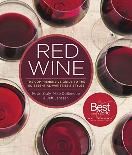 Merlot Wine Sangiovese - Red Wine: The Comprehensive Guide to the 50 Essential Varieties & Styles