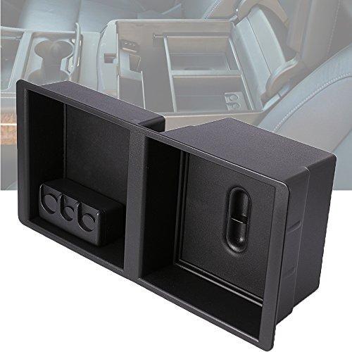 Apoyabrazos Centro Consola bandeja organizador caja de almacenamiento para Chevrolet Silverado 150025003500Tahoe...